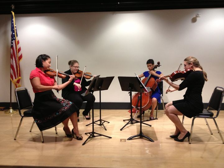 La Bella Musica in concert at the Newport Public Library