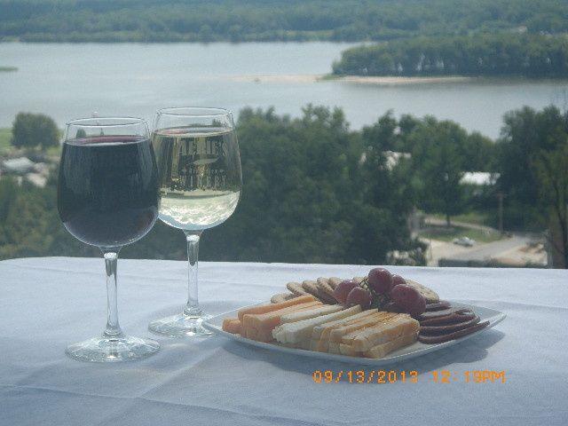 Aerie's Terrace breakfast