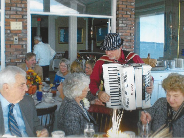 Tmx 1416453737525 Annas 90th Accordionist Simon Shapiro2 Stoughton wedding band