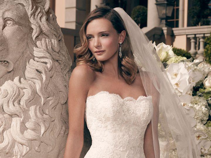 Tmx 1457216645259 Casablancabridalweddinggownstyle2163closeup Maple Shade wedding dress