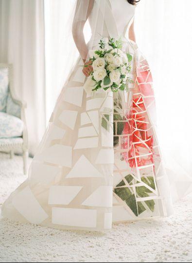 Lush & Modern Cape Cod Wedding