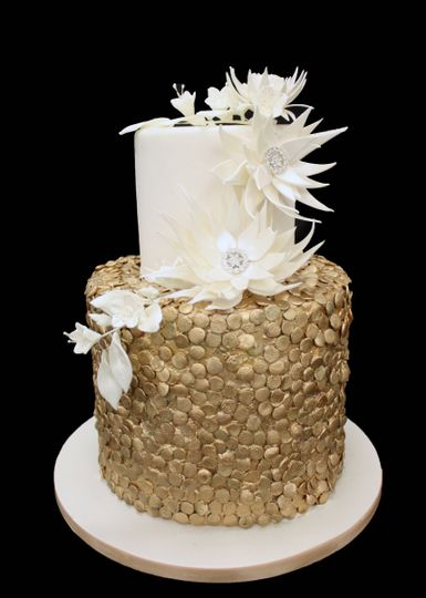 Two-tier cake