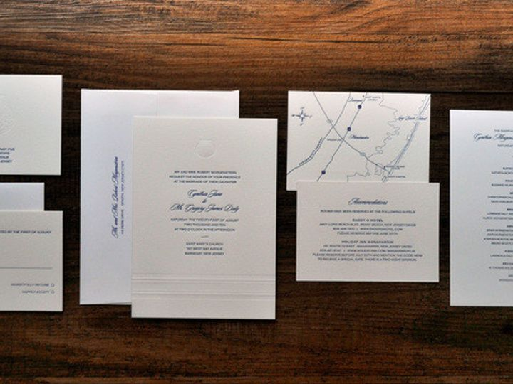 Tmx 1418951738759 Nauticalletterpressweddinginvitations Sparta wedding invitation