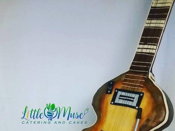 Tmx 1508854015778 Stand Up Guitar San Antonio, TX wedding cake