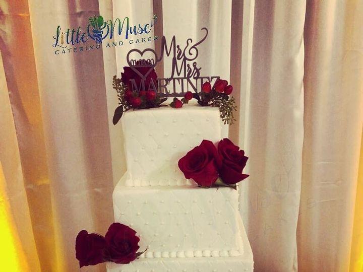 Tmx 5 Tier Square W Pearls 51 766154 158134865330351 San Antonio, TX wedding cake