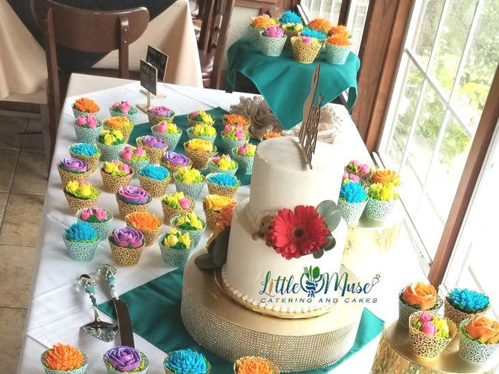Tmx Fiesta Garden Wedding 51 766154 1559657391 San Antonio, TX wedding cake