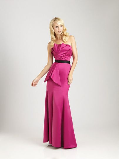 ce8898ef6cf Style No. 1276 - available in 50+ colors This long satin gown features a
