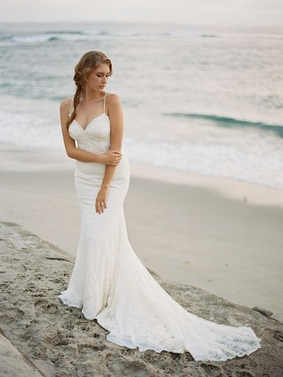 of the ocean elegant bohemian beach bride editor