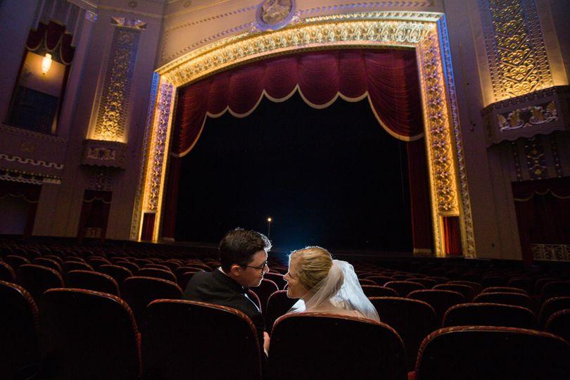 Wedding a Peabody Opera House