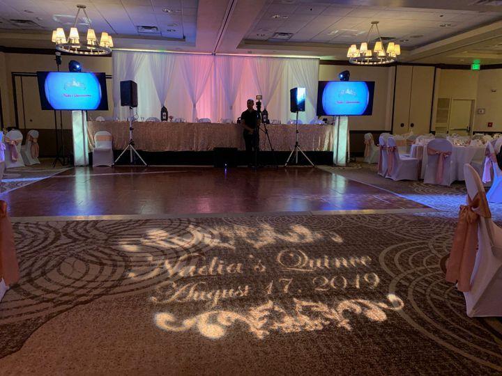 Ballroom ready for Nadia!
