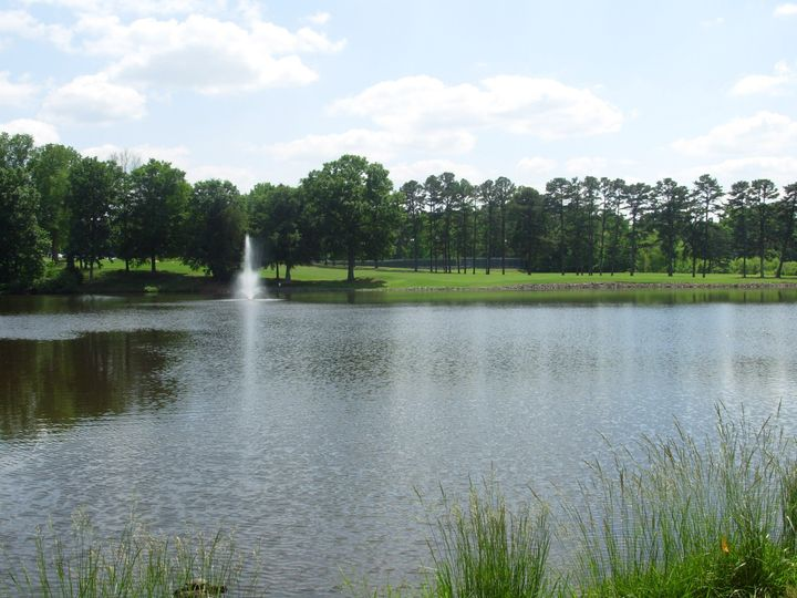 1 of the 5 lakes located on site