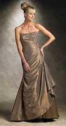 Rena de Montilla designer gown for Mothers of the Wedding.