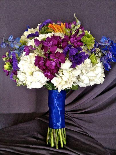 The violet bouquet