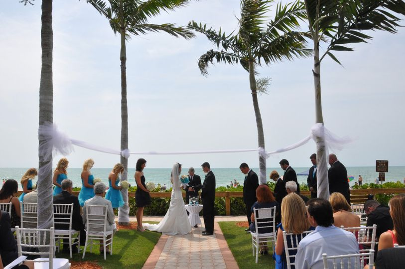 Destination Wedding photographed in Naples, FL. Our resident pilot flew us to South Florida to...