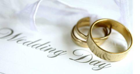 Couple's wedding ring