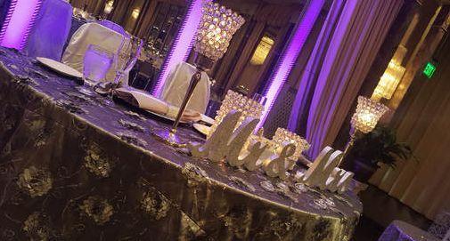 Couple's tablescape