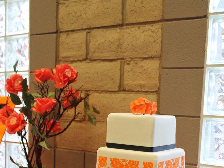 Tmx 1488947384659 Wedding Cake Orange Damask Nipomo, CA wedding cake