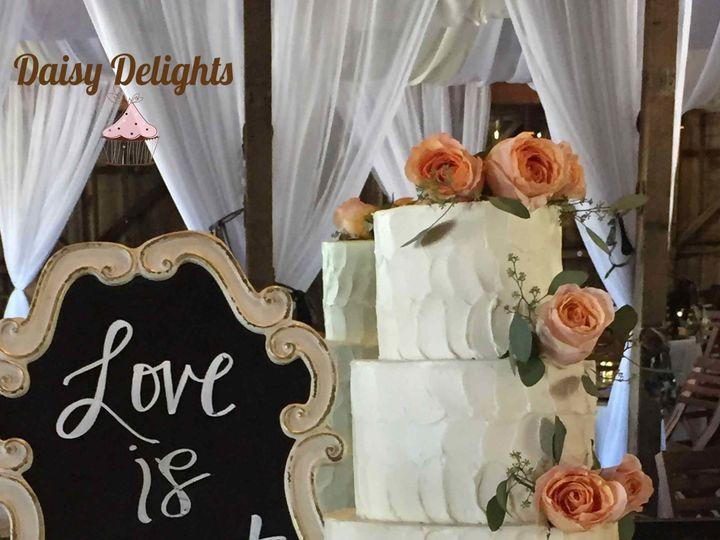 Tmx 1521606748 2af9567d42de9ad0 Wedding Buttercream CoralRoses Web Nipomo, CA wedding cake