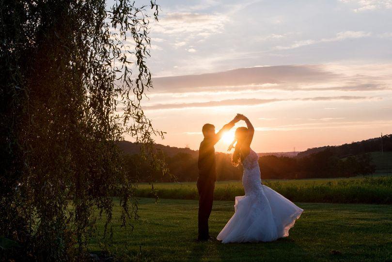 Sunset Wedding Dance