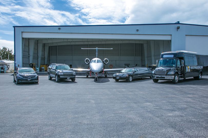 Fleet at the hangar