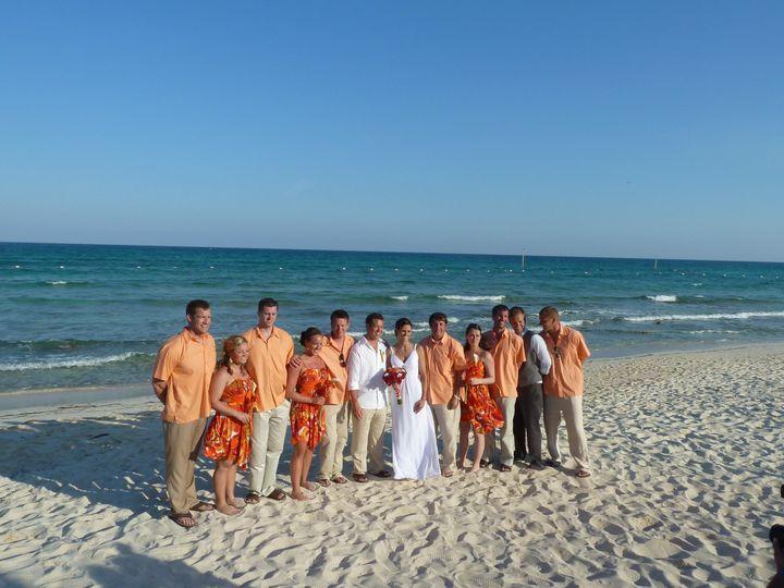 Tmx 1368587860848 Erin Wedding Party On Beach Allegan wedding travel