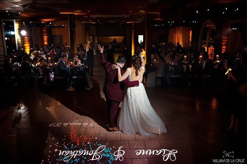 First Dance with Monogram