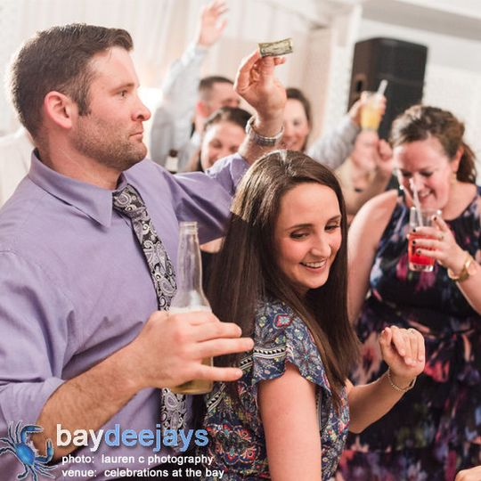 Burning up the Celebrations at the Bay dance floor!  Photo Courtesy of Lauren C Photography
