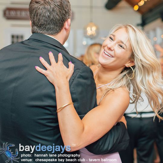 Another great event at the Chesapeake Bay Beach Club - Tavern Ballroom.  Photo Courtesy of Hannah...