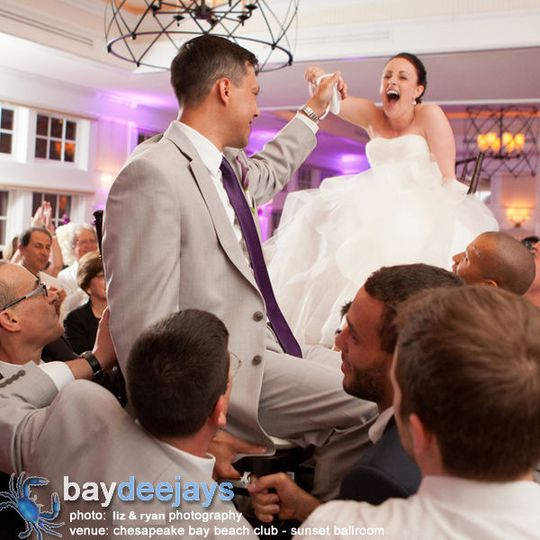 Mozel Tov! - Dancing the Hora at the Chesapeake Bay Beach Club Sunset Ballroom.  Photo Courtesy of...