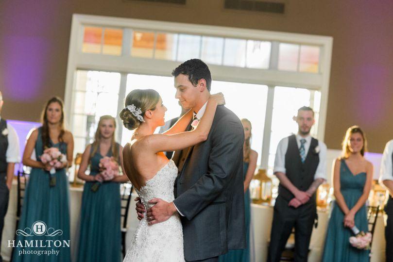 Couples' First Dance at the Chesapeake Bay Beach Club - Beach House.