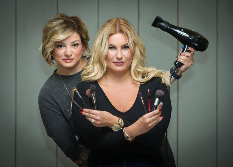 Glam squad - Rachel and Jaelene