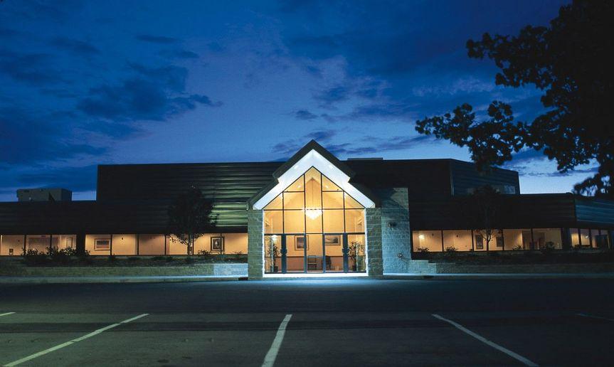 8f5645a54e649082 Exterior Convention Center Night Photo