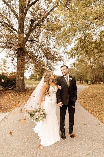 Autumnal couple