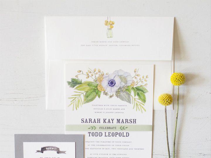 Tmx 1381552576350 Sarah3 Web Denver wedding invitation