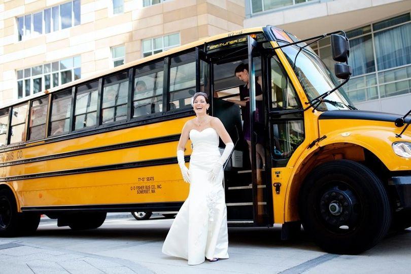 45 pass. School bus