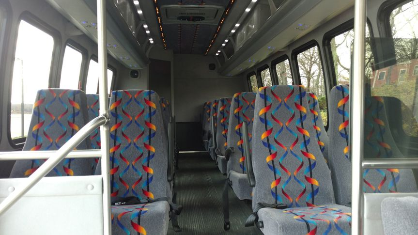 Mini coach interior
