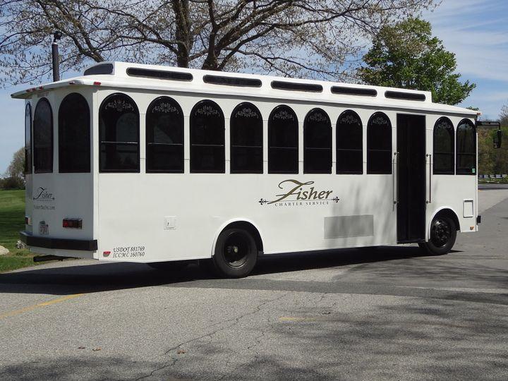 Tmx Trolley 6 51 372354 Somerset, MA wedding transportation