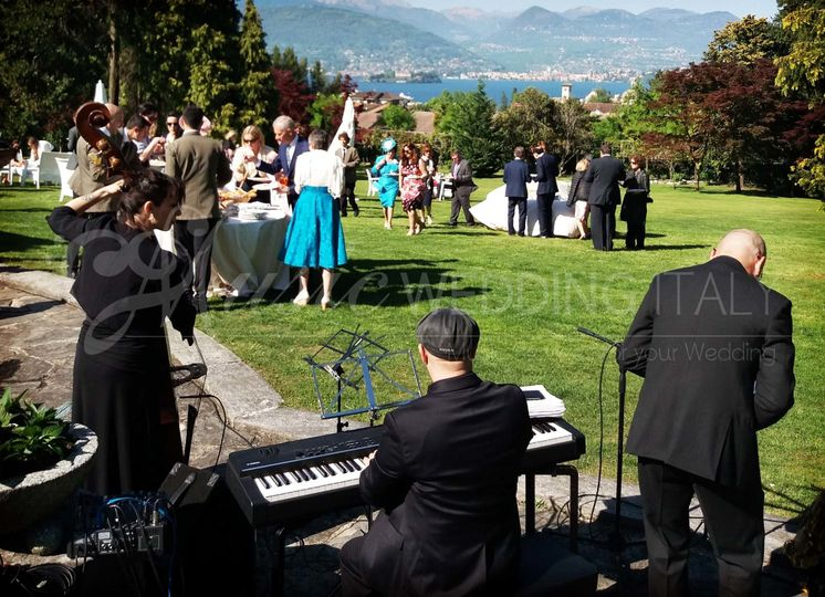 Wedding jazz band TRIO PIANO, BASS AND SAX