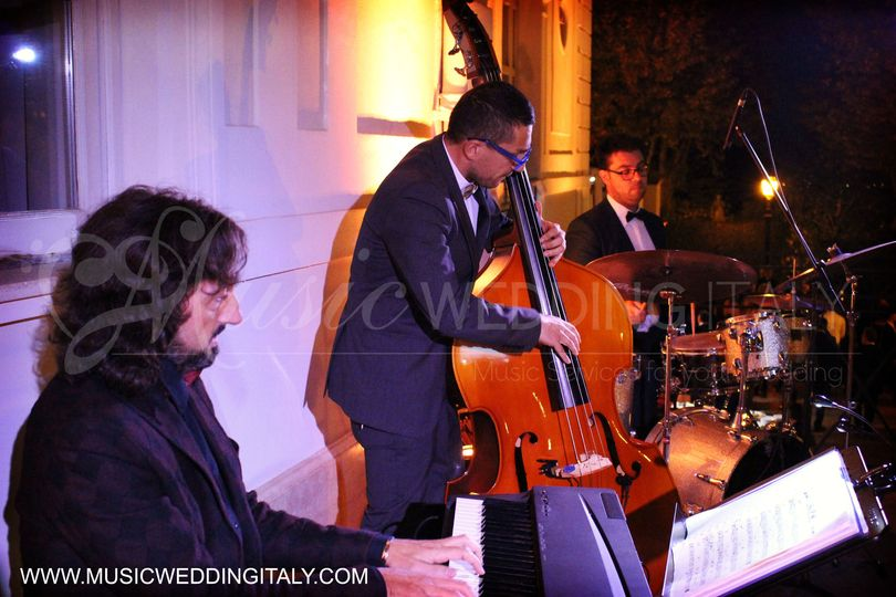 Wedding jazz band - TRIO PIANO, BASS AND DRUMS