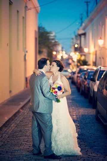 Andrea and James Old San Juan Wedding