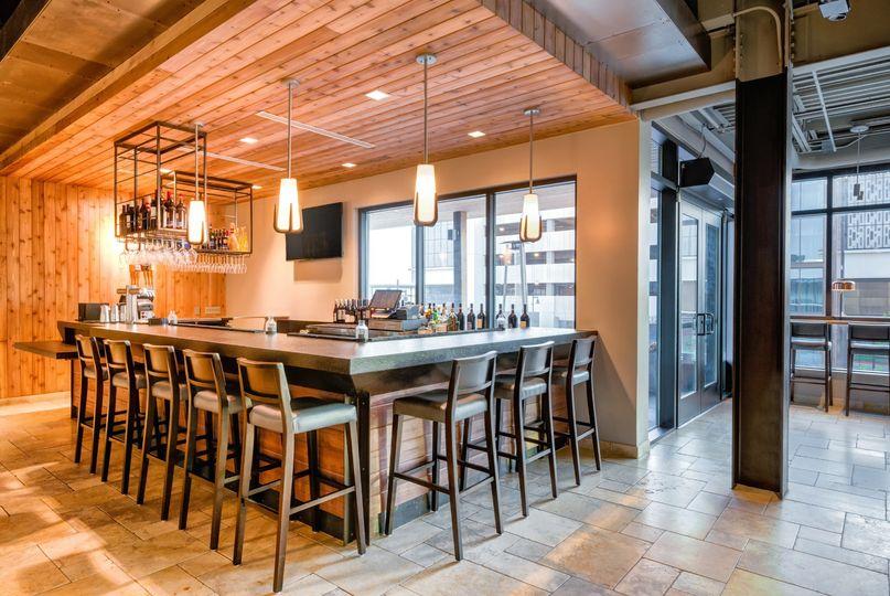 2nd floor bar area