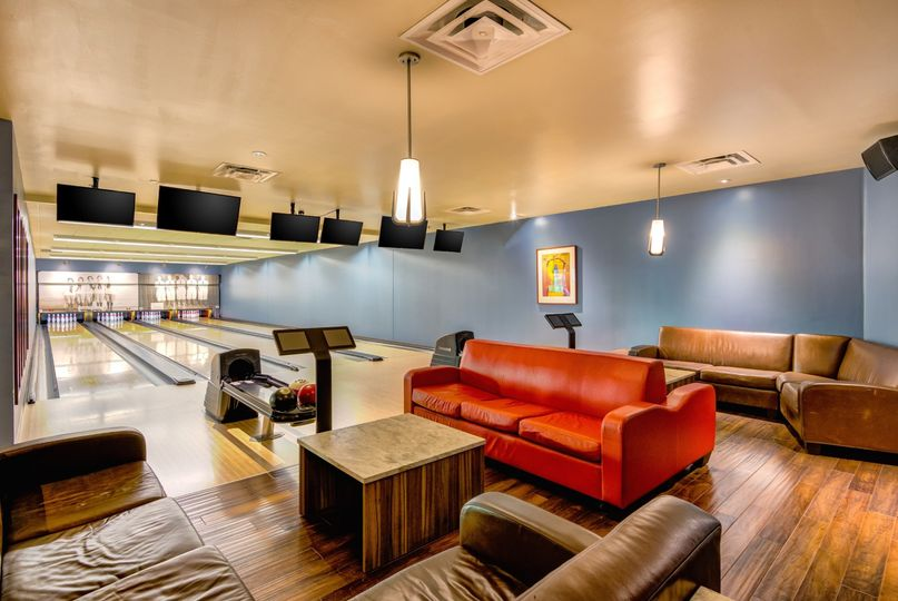 2nd floor bowling lounge