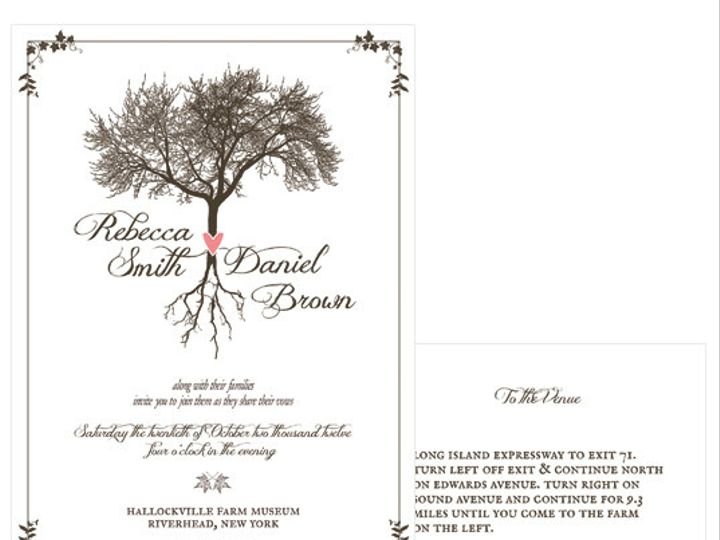 Tmx 1378224227114 Earthyroots Patchogue wedding invitation
