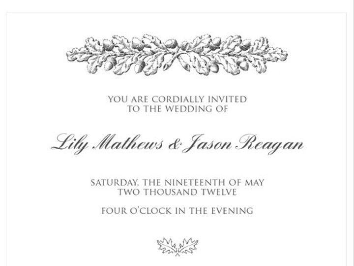 Tmx 1378224242537 Rusticleaves Patchogue wedding invitation