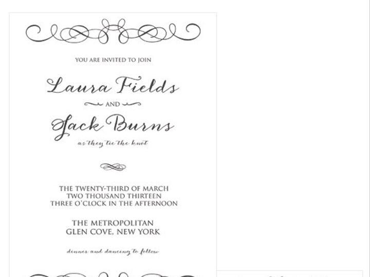 Tmx 1378224297190 Modernflourish Patchogue wedding invitation