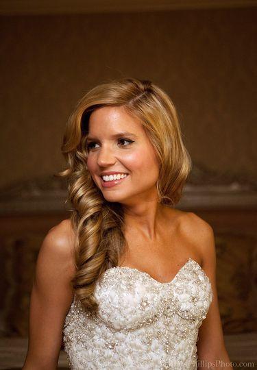 Sample bridal makeup