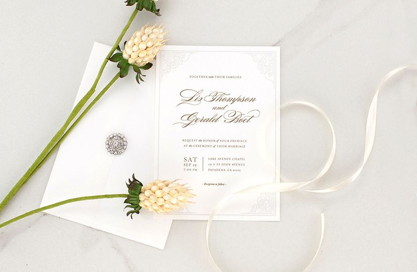 Custom Wedding Invitation by cordiallyinvite.com