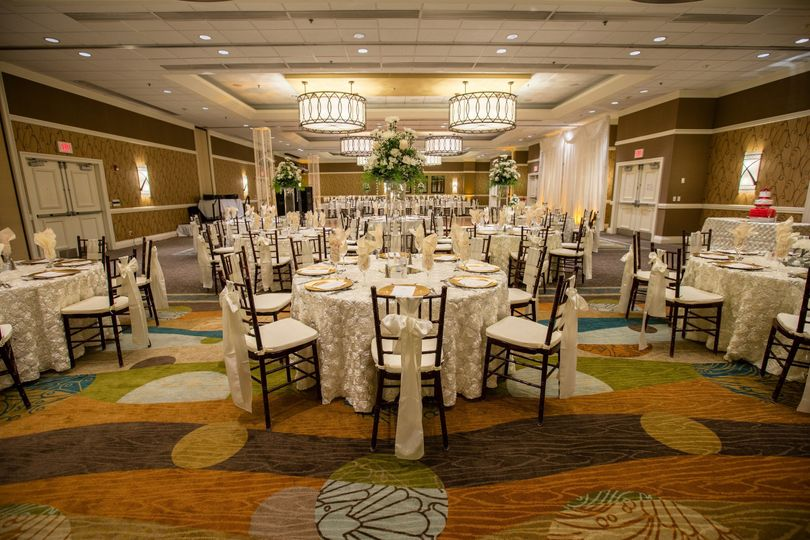 Our Beautiful Tango Ballroom can accommodate up to 350 guests