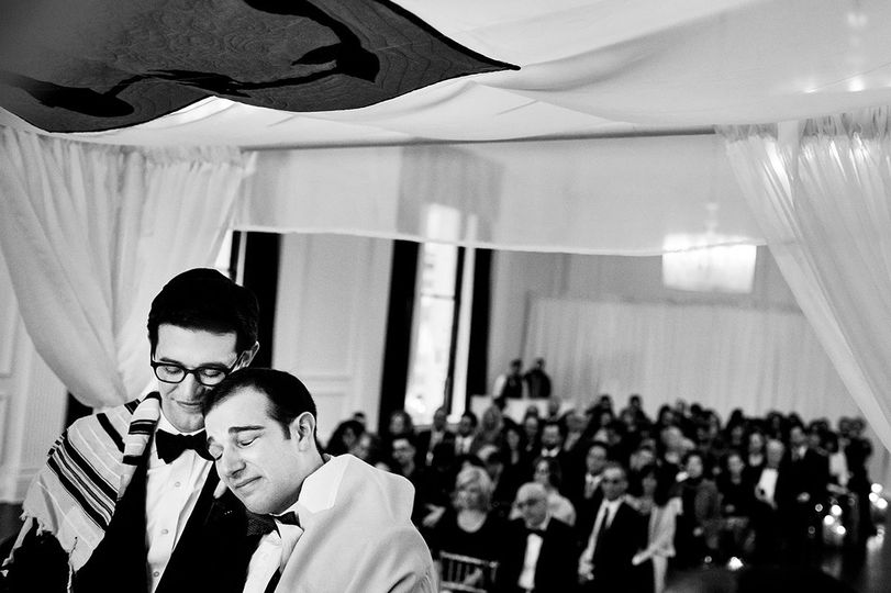 Same sex Jewish wedding.