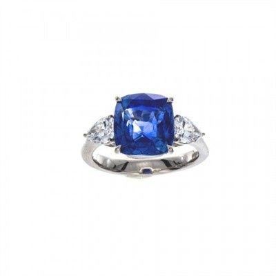 Tmx 1415736454352 Wl Sapphire Cushion 2t Austin wedding jewelry